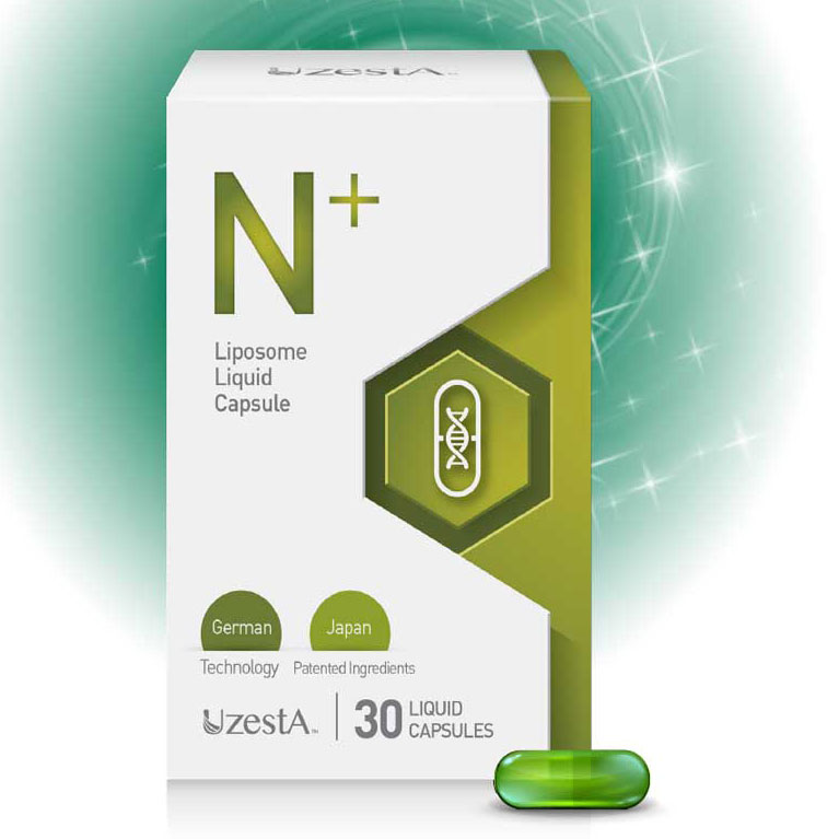 N+ liposome liquid capsule